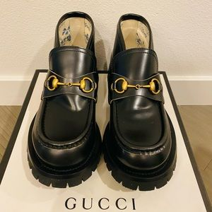 Unisex Gucci loafer (men 6.5 and women 9.5)